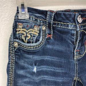 Rock Revival Jeans - ROCK REVIVAL Raven Straight Leg Embellished Jeans